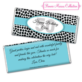 Personalized Adult Birthday Chocolate Bar & Wrapper