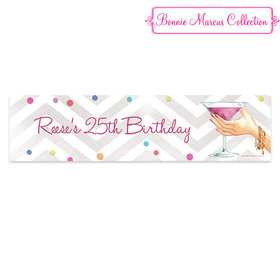 Personalized Birthday Here's to You 5 Ft. Banner