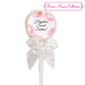 Bonnie Marcus Collection Personalized Lollipop - Blithe Spirit Birthday (24 Pack)