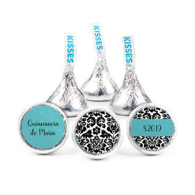 Personalized Bonnie Marcus Birthday Quinceanera Hershey's Kisses (50 pack)