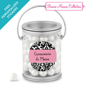 Bonnie Marcus Collection Personalized Paint Can Quinceañera (25 Pack)