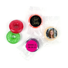 Personalized Bonnie Marcus Sweet 16 Gold Dots Life Savers 5 Flavor Hard Candy