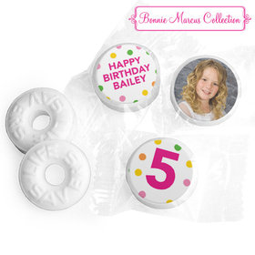 Personalized Bonnie Marcus Birthday Tropical Life Savers Mints