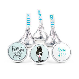 Personalized Bonnie Marcus Birthday Vogue Hershey's Kisses (50 pack)