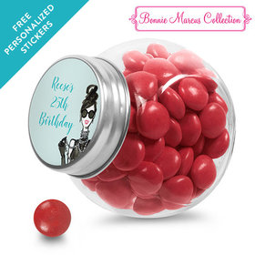 Bonnie Marcus Collection Personalized Mini Side Jar Vogue Birthday (24 Pack)