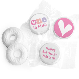 Personalized Bonnie Marcus 1st Birthday Adorable One Life Savers Mints