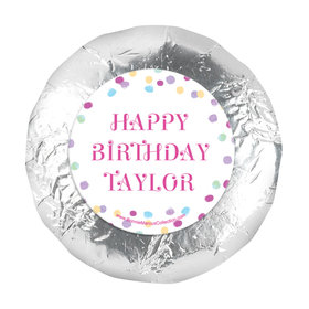"Personalized Bonnie Marcus Birthday Sprinkling Confetti 1.25"" Sticker (48 Stickers)"