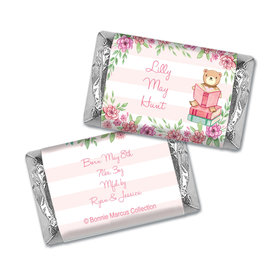 Bonnie Marcus Collection Personalized Mini Candy Bar Wrapper Birth Announcement Story Time Girl
