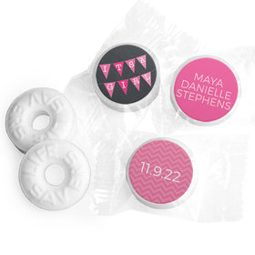 Bonnie Marcus Collection Personalized LIFE SAVERS Mints It's a Girl Banner Birth Announcement