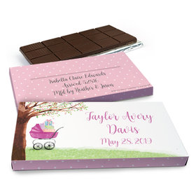 Deluxe Personalized Rockabye Baby Chocolate Bar in Gift Box (3oz Bar)