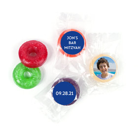 Personalized Bonnie Marcus Bar Mitzvah Traditional Star LifeSavers 5 Flavor Hard Candy