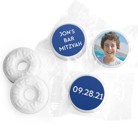 Personalized Bonnie Marcus Bar Mitzvah Traditional Star Life Savers Mints