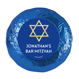 Personalized Bonnie Marcus Bar Mitzvah Traditional Star Chocolate Covered Oreos Cookies