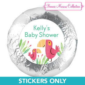Bonnie Marcus Collection Baby Shower Safari Snuggles Stickers (48 Stickers)