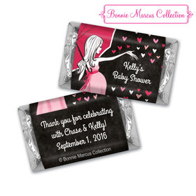 Bonnie Marcus Collection Personalized Baby Shower Candy Sprinkling Pink