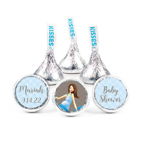 """Bonnie Marcus Collection Baby Bow Baby Shower 3/4"""" Stickers - Custom (108 Stickers)"""