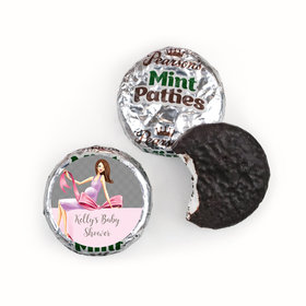Bonnie Marcus Collection Baby Shower Baby Bow Pearson's Mint Patties