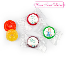Bonnie Marcus Story Time Baby Shower Stickers - Custom LifeSavers 5 Flavor Hard Candy (300 Pack)