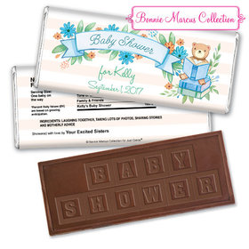 Bonnie Marcus Collection Personalized Embossed Chocolate Bar Baby Shower Favors Story Time