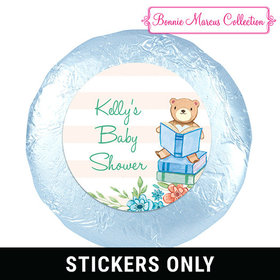 "Bonnie Marcus Collection Baby Shower Story Time 1.25"" Stickers (48 Stickers)"