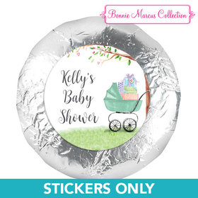 "Bonnie Marcus Collection Baby Shower Rockabye Baby 1.25"" Stickers (48 Stickers)"