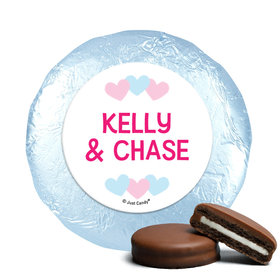 Personalized Bonnie Marcus Gender Reveal Onesies Chocolate Covered Oreos
