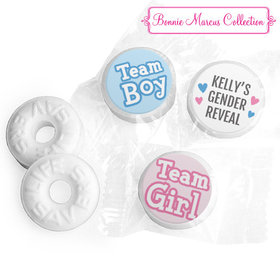 Personalized Bonnie Marcus Gender Reveal Boy or Girl Life Savers Mints