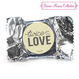 Personalized Bonnie Marcus Birth Announcement Twice the Love York Peppermint Patties