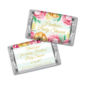 Personalized Bonnie Marcus Baby Shower Stripes Mini Wrappers Only