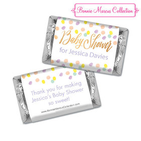 Personalized Bonnie Marcus Confetti Fun Shower Hershey's Miniatures