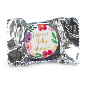 Personalized Bonnie Marcus Baby Shower Fun Floral York Peppermint Patties