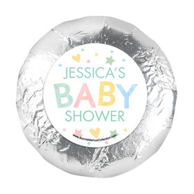 Personalized Bonnie Marcus Sweet Baby Shower 1.25in Stickers (48 Stickers)