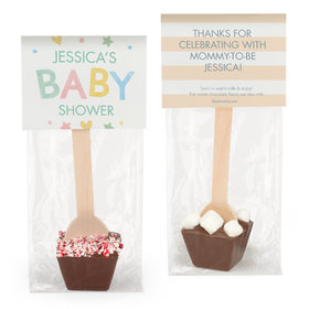 Personalized Bonnie Marcus Baby Shower Sweet Baby Hot Chocolate Spoon