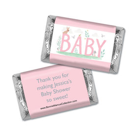 Personalized Bonnie Marcus Forest Fun Baby Shower Mini Wrappers