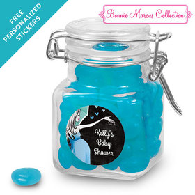 Bonnie Marcus Collection Personalized Latch Jar - Sprinkling Pink (12 Pack)