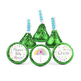 Personalized Bonnie Marcus Baby Shower Heart Shower Hershey's Kisses (50 pack)