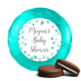 Personalized Bonnie Marcus Heart Shower Baby Shower Milk Chocolate Covered Oreos