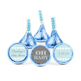 Personalized Bonnie Marcus Baby Shower Oh Baby Hershey's Kisses (50 pack)