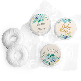 Personalized Bonnie Marcus Baby Shower Blooming Baby Life Savers Mints