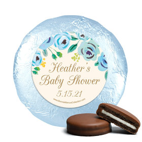 Personalized Bonnie Marcus Blooming Baby Baby Shower Milk Chocolate Covered Oreos
