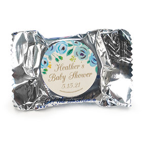Personalized Bonnie Marcus Blooming Baby Baby Shower York Peppermint Patties