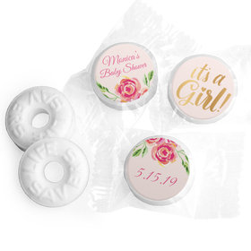 Personalized Bonnie Marcus Baby Shower Spring Baby Life Savers Mints