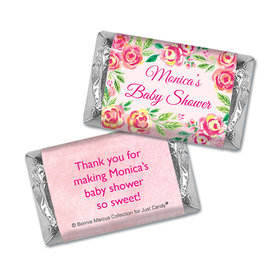 Personalized Bonnie Marcus Baby Shower Hershey's Miniatures Wrappers Spring Baby