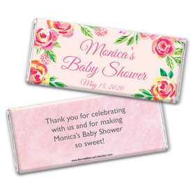 Personalized Bonnie Marcus Baby Shower Spring Baby Chocolate Bar Wrappers
