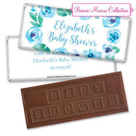 Personalized Bonnie Marcus Baby Shower Embossed Chocolate Bar & Wrapper