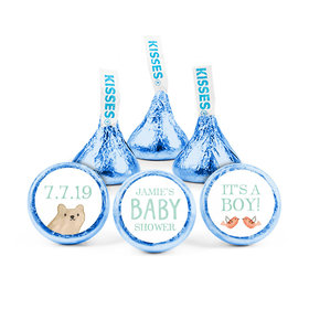 Personalized Bonnie Marcus Baby Shower Baby Bear Hershey's Kisses (50 pack)