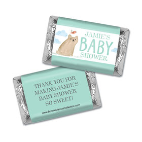 Personalized Bonnie Marcus Baby Shower Hershey's Miniatures Wrappers Baby Bear