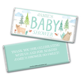Personalized Bonnie Marcus Baby Shower Baby Bear Chocolate Bar Wrappers