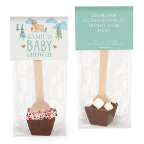 Personalized Bonnie Marcus Baby Shower Baby Bear Hot Chocolate Spoon