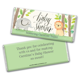 Personalized Bonnie Marcus Baby Shower Sarafi Nursery Chocolate Bar & Wrapper